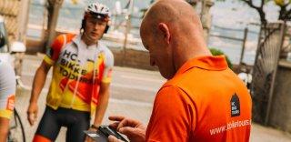 Arvis Piziks Ex Pro cyclist HC Bike Tours team member