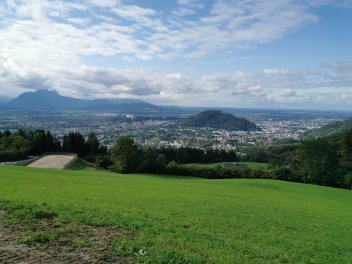 Salzburg Austria view from the Gaisbergspitz a great cycling climb near the city