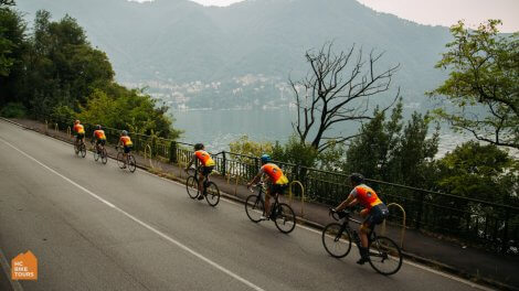 Cycling around the Lake Como Italy - Private bike holidays with HC Bike Tours