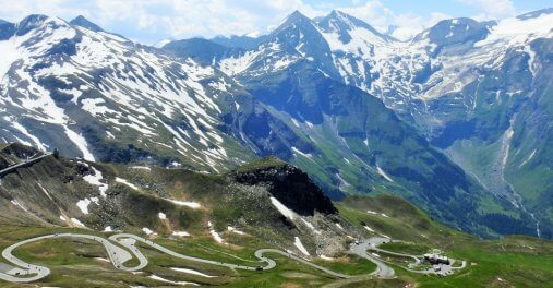 Infamous Austria cycling climb Grossglockner HC Bike Tours Austria and Slovenia bike trip