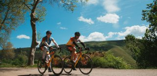 Spain Cantabria bike trip for a private group organized by HC Bike Tours
