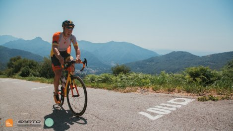 Climbing the Muro di Sormano on a private Como cycling holidays with HC Bike Toufrs