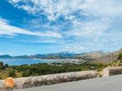 Mallorca bike camp 2021 - view to Puerto de Pollenca - HC Bike Tours