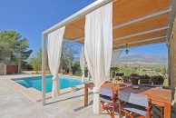 Rental villa in Selva Mallorca perfectly located to explore all the island by bicycle or car, Sa Calobra and the Tramuntana mountains nearby, three bedrooms great for up to three families