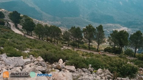 Cycling in Calpe mountains tours with HC Bike Tours