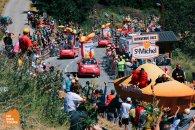 Tour de France LIVE race viewing trip | HC Bike Tours spot at the top of the Alpe d`Huez climb