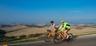 Tuscany Italy cycling trip organized by HC Bike Tours