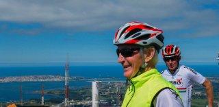 Cantabria Peña Cabarga cycling climb in Spain - HC Bike Tours private cycling tour